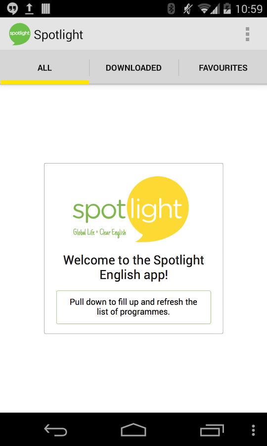 Ứng dụng học tiếng Anh Spotlight English