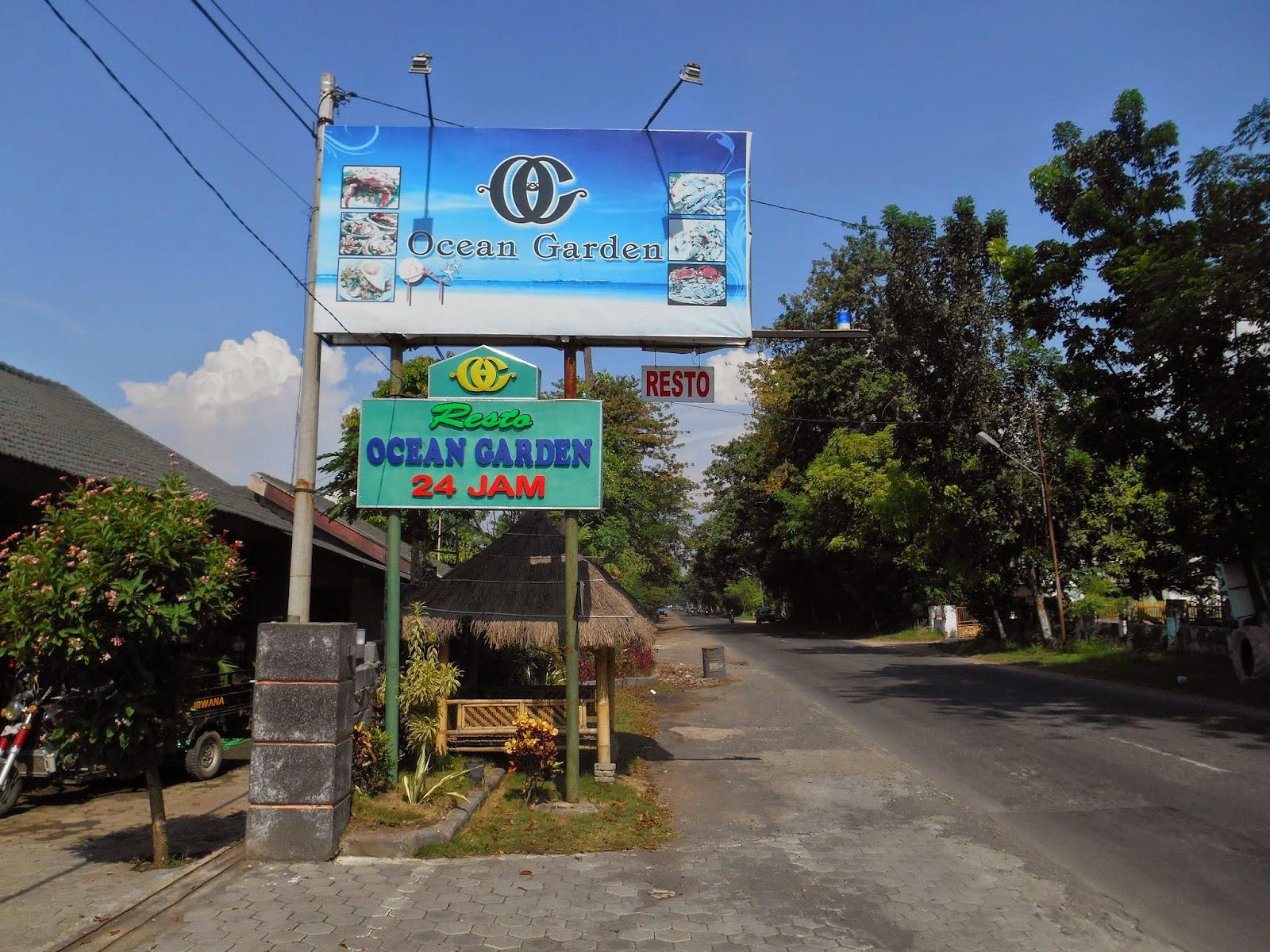 ocean garden restaurant at probolinggo