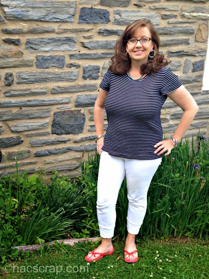 My Scraps | Mid-Life Mom Style - White Jeggins