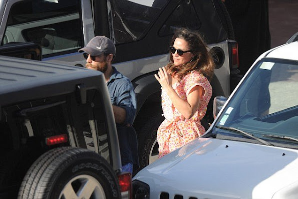 Pippa Middleton and James Middleton, Donna Air new year holiday at Nikki Seashore Hotel of St Barts