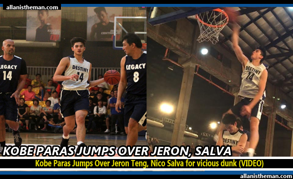 Kobe Paras Jumps Over Jeron Teng, Nico Salva for vicious dunk (VIDEO)
