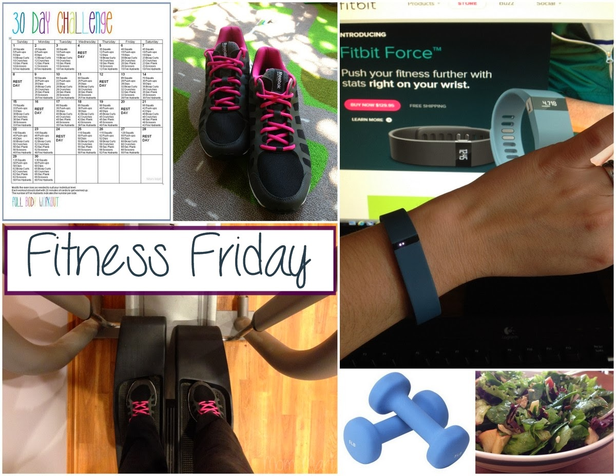 Fitness Friday #FitMom