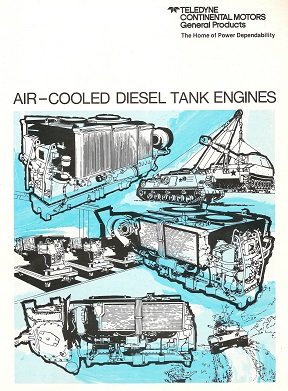 The Quot Blue Book Quot On Air Cooled Diesel Tank Engines