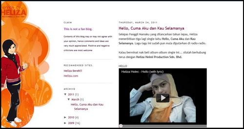Adakah Ini Blog Heliza Helmi?