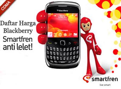 Paket Blackberry Smartfren Terbaru September 2014
