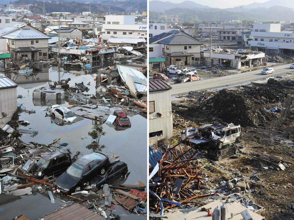 japanese earthquake aftermath essay