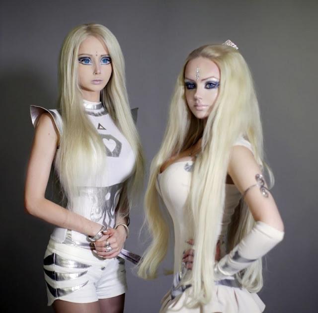 Valeria, la nueva barbie humana