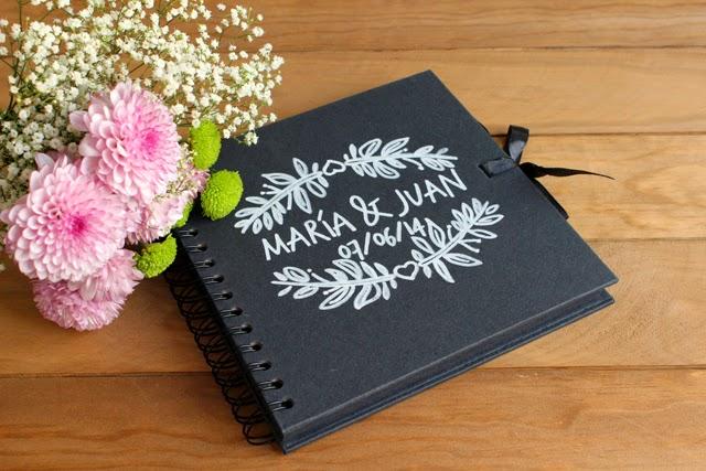 detalles de boda originales libro de firmas personalizado hermanas bolena
