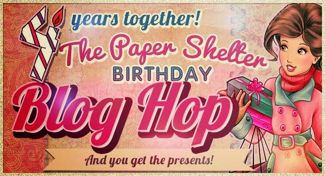 The Paper Shelter 4th birthday blog hop