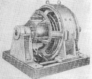 Открытый электродвигатель