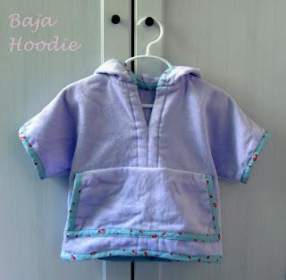 Baja Hoody sewn by Call Ajaire