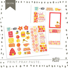 Printable kit with Illustrated Faith!