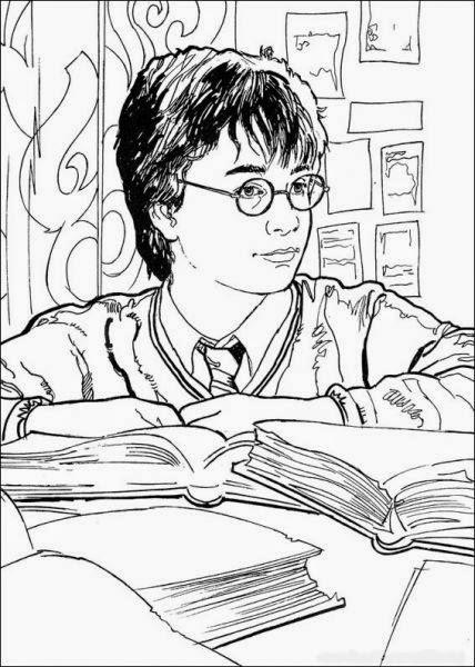 Harry Potter com a varinha mágica