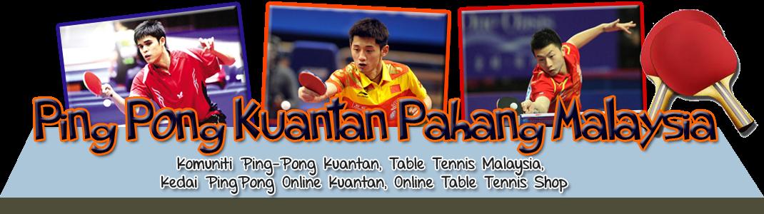 Ping Pong and Table Tennis Kuantan Pahang Malaysia