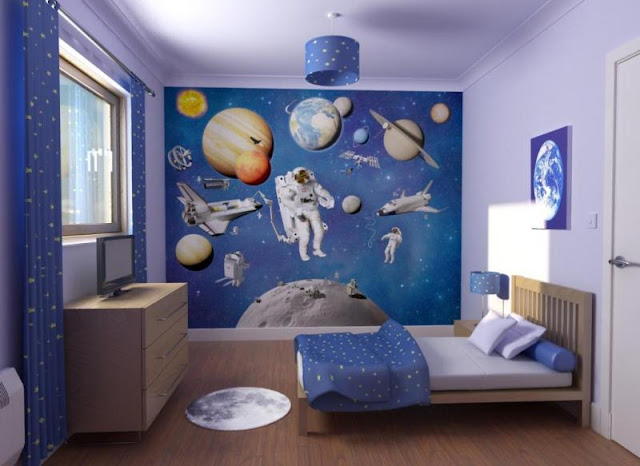 - Deco kamer bebe blauw ...