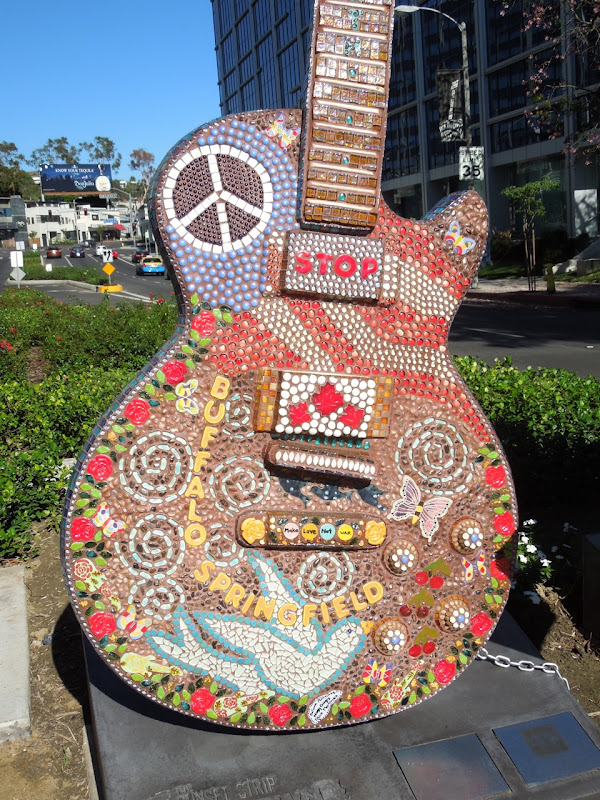 Buffalo Springfield tribute guitar Sunset Strip
