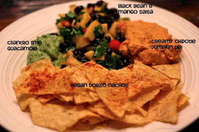 Vegan Doritos, Dips and Salsa {Nacho Love Fest}