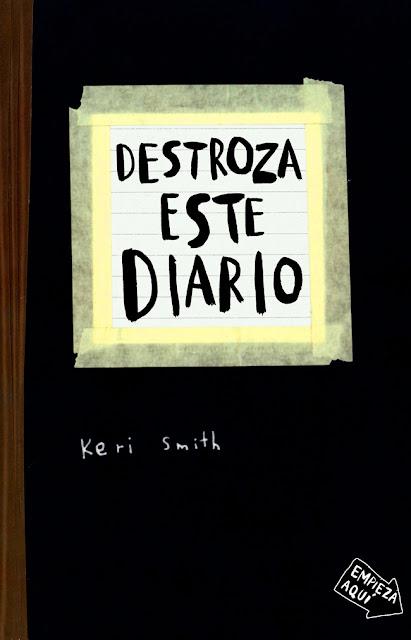 Portada de Destroza este Diario de Keri Smith