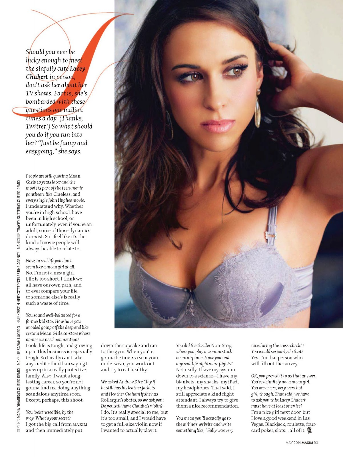 Lacey Chabert For Maxim Magazine, India, May 2014