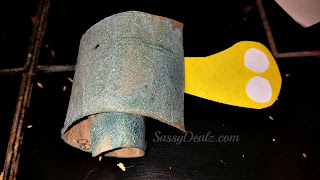 turbo snail toilet paper roll craft for kids