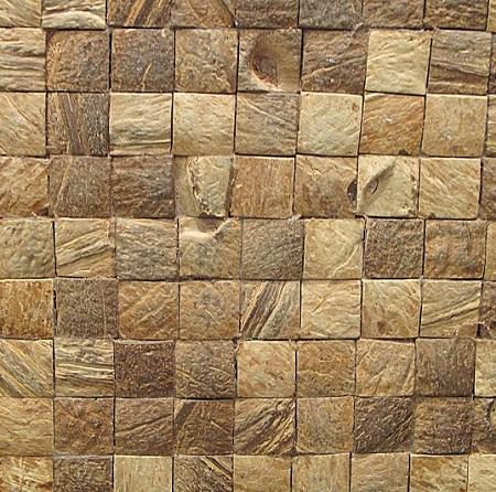 Azulejos de cascaras de coco materiales eco for Azulejos para paredes interiores
