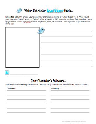 Warm up activities for creative writing