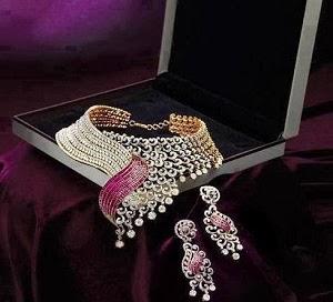 Beautiful Latest Bridal Wedding Jewellery Sets 2014-15