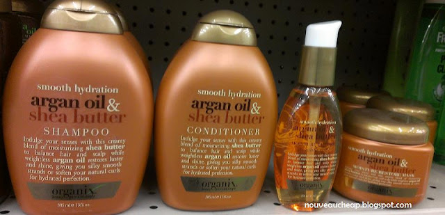 Spotted Organix Argan Oil Amp Shea Butter Haircare
