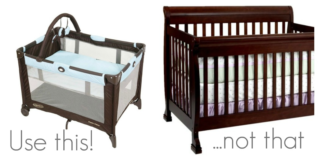 i found broke crib bjorn visual measure pack n but smaller the travel graco cribs is my looks by when side out immediately baby this vs comparison play deceiving img quite light as bit review peek a tape