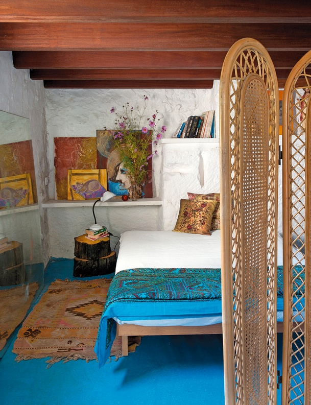 revista elle decor casa en menorca