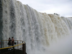 Iguazu Falls: Next to Viewing Elevator (Brazil side)
