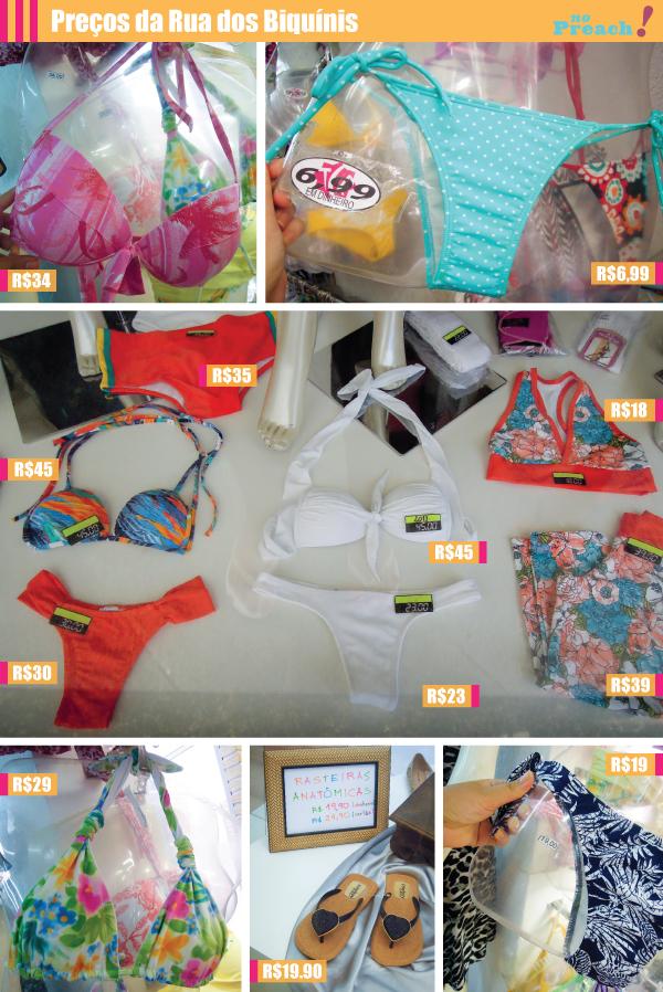 PREÇOS BIQUINIS - moda praia - Cabo frio RJ