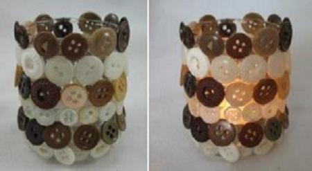 ideas de adornos de navidad con botones reciclados decoracin para fiestas