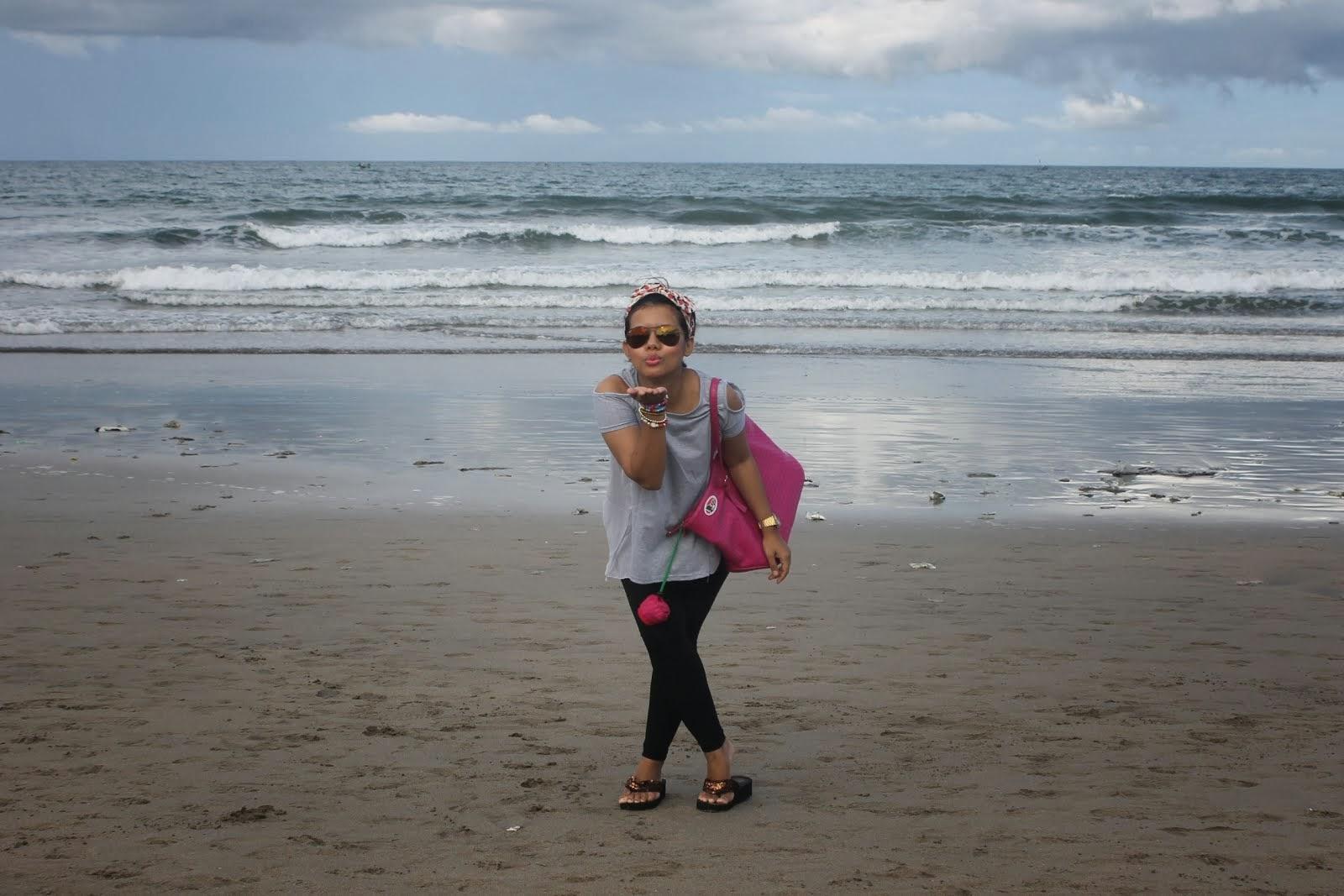 At Kuta Beach