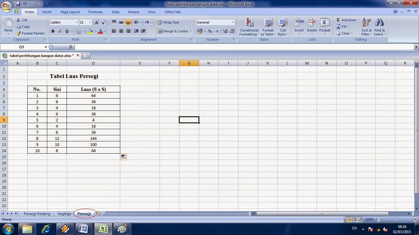 cara, belajar, penggunaan, worksheet, fungsi, adalah