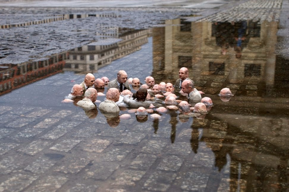 Drown but deny climate change leaders