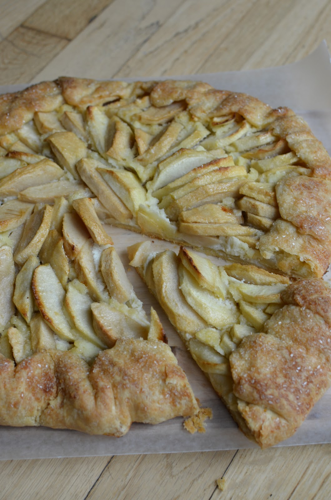 fruit apple galette with any kind of fruit add any kind of fruit ...