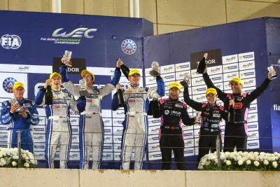 Dunlop lider in WEC cu G-Drive Racing