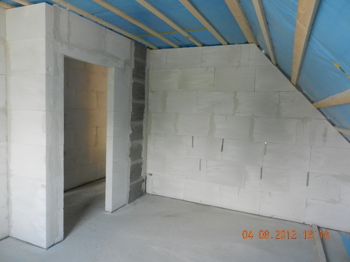 team massivhaus bautagebuch 2012 innenw nde dg. Black Bedroom Furniture Sets. Home Design Ideas