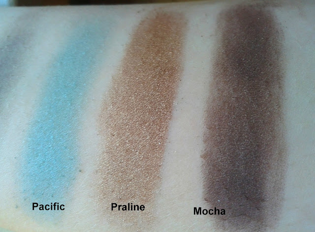 Smashbox Shades of Fame Eye Palette Pacific Praline Mocha