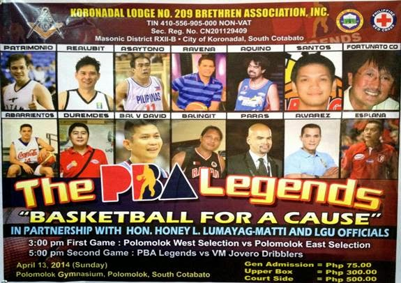PBA Legends Polomolok