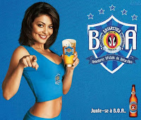 Juliana Paes for Antartica (by Ambev).