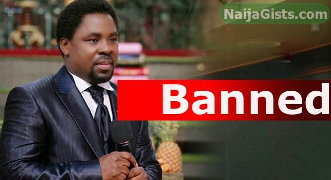 tb joshua banned south africa