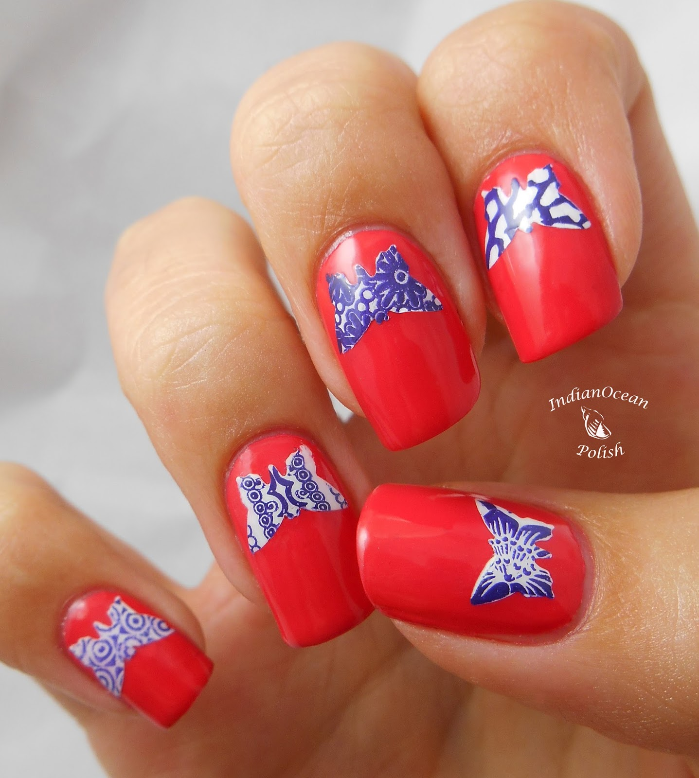 Indian Ocean Polish How To Make Your Own Nail Decals Part - How to make nail decals at home