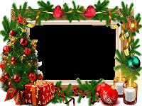 Moldura de Natal com fundo transparente - 5
