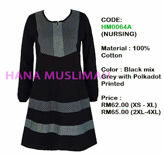 T-shirt-Hana-Muslimah-HM0064A