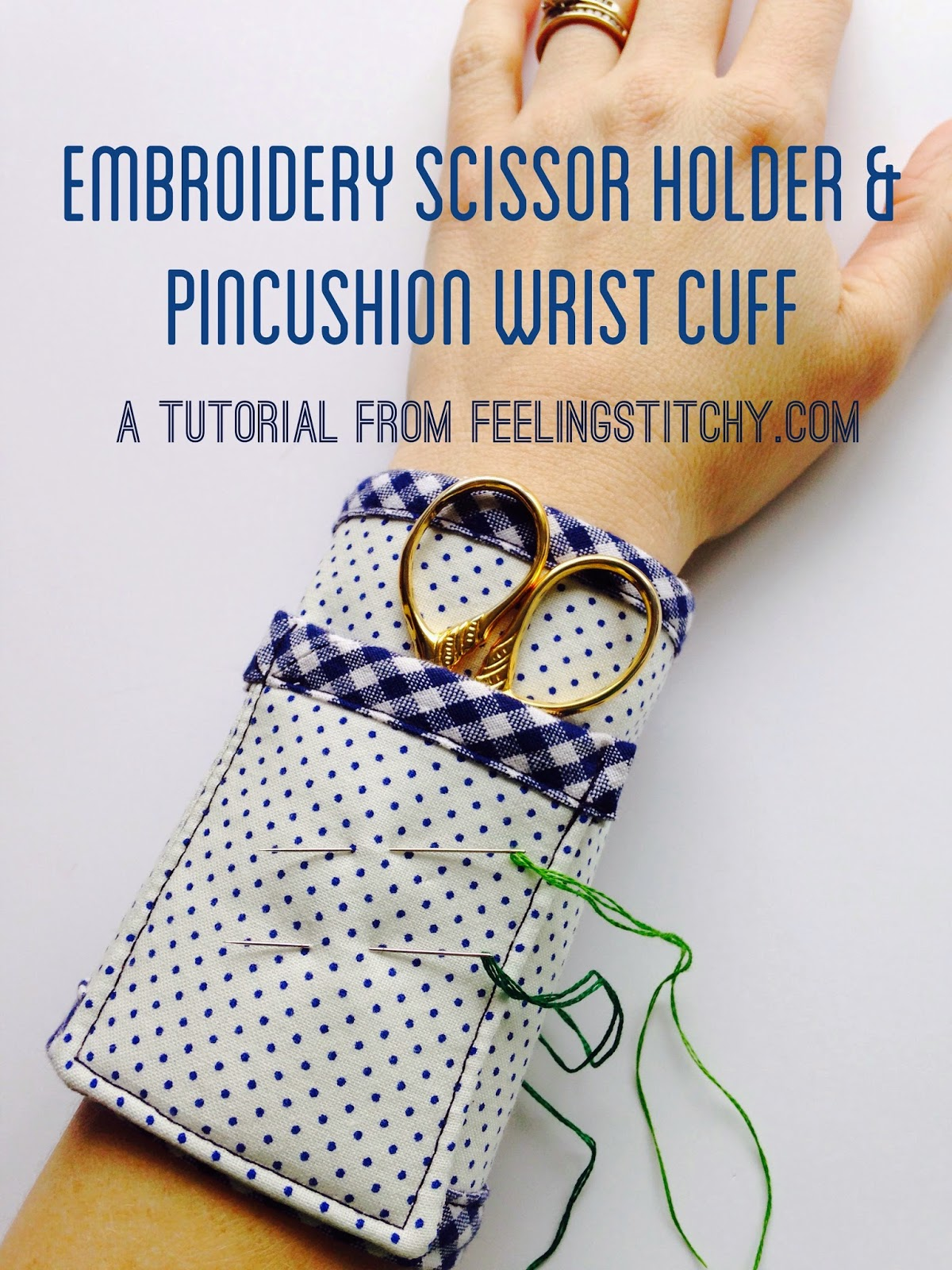 Thimblenest thursdays tutorial for an embroidery scissor