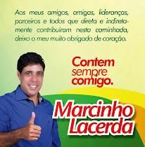 """""""VEREADOR POR CACERES-MT, MARCINHO LACERDA"""