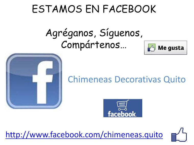También estamos en Facebook ...