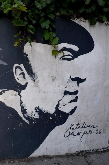 street art in santiago de chile barrio bellavista arte callejero pablo neruda